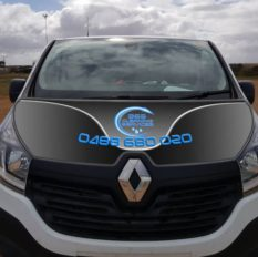 <h4>Vehicle Graphics</h4><br> Design and layout for effective vehicle signage
