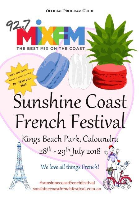 French Festival Program